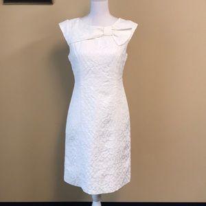 Sandra Darren - Sheath Dress w/ Bow